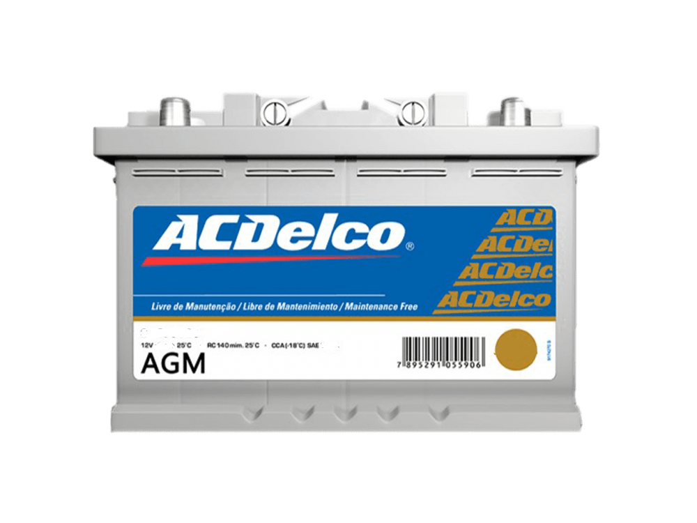 Bateria ACDelco 80ah AGM Start-Stop