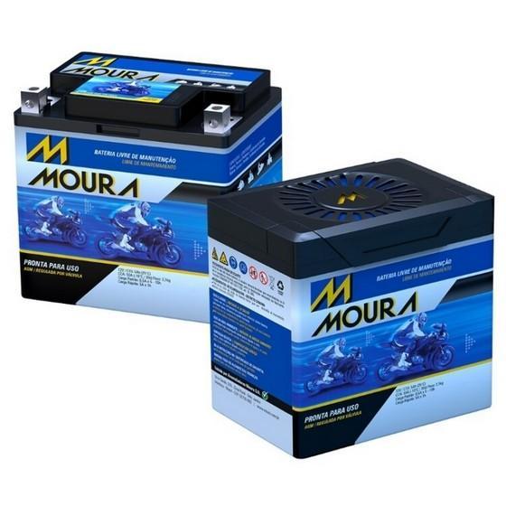 Bateria Moura Moto 6ah